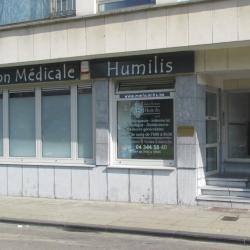 Maison Médicale Humilis : façade - 4020 Liège avenue Mahiels 6