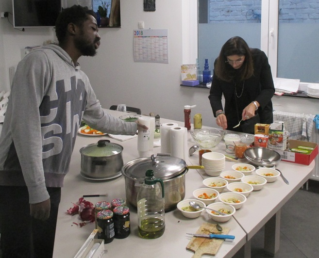 Bonne annee bonne sante preparatifs cuisine