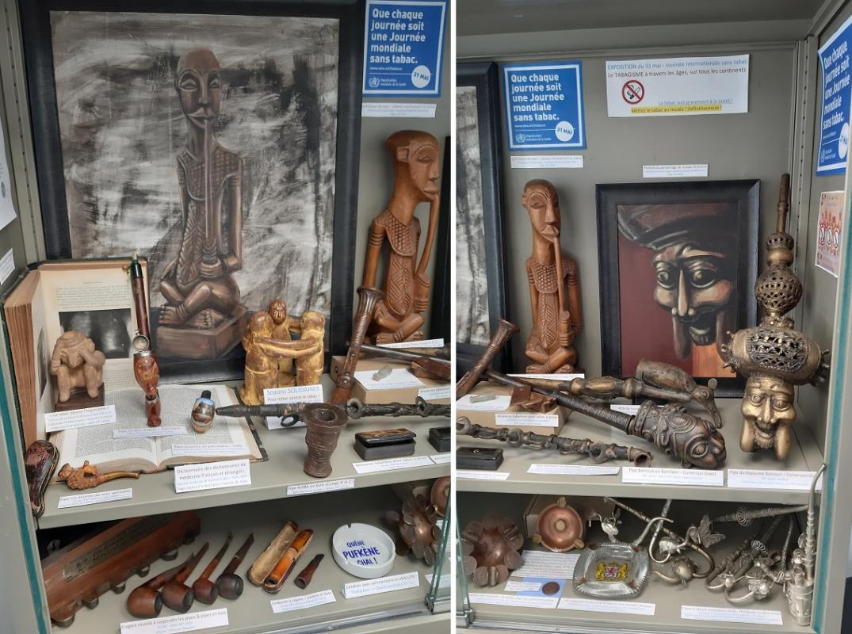 Expo tabagisme ages et continents