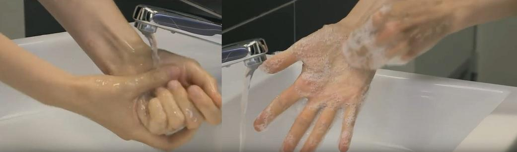 Lavage des mains illustration