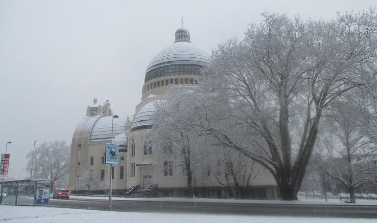 Saint vincent sous la neige 30 1 2019